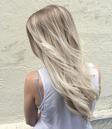 Blonde Hair Bronde Choppy