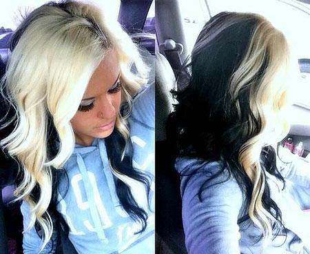 Blonde Hair Color Black