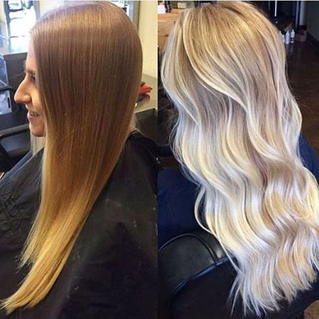 Blonde Balayage Hair Ombre