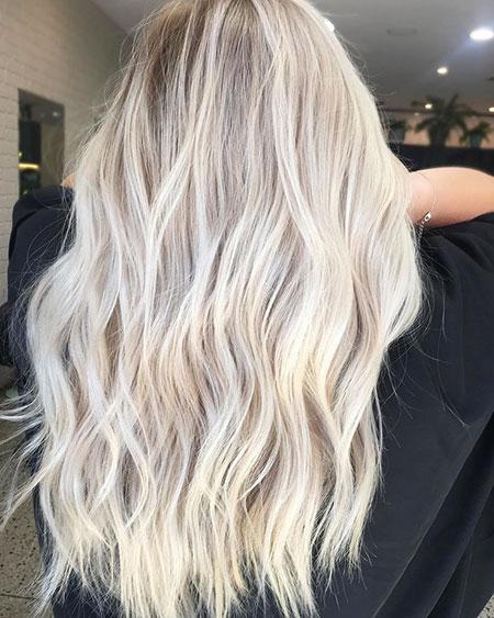 Blonde Hair Color Balayage