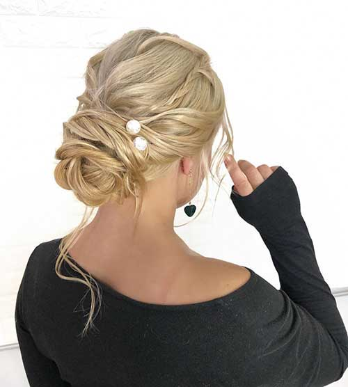 Elegant Updos For Long Hair